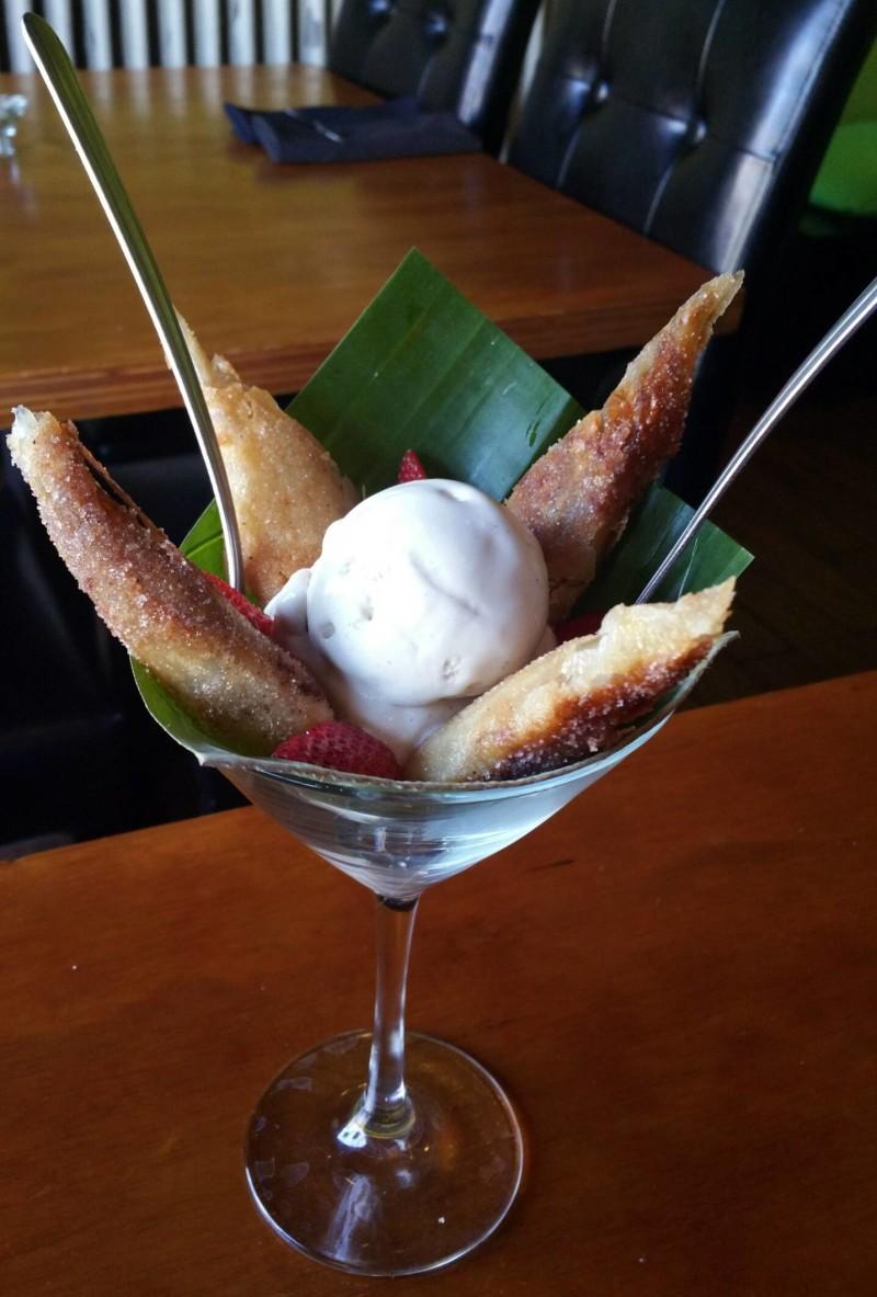 Fried Banana Dessert