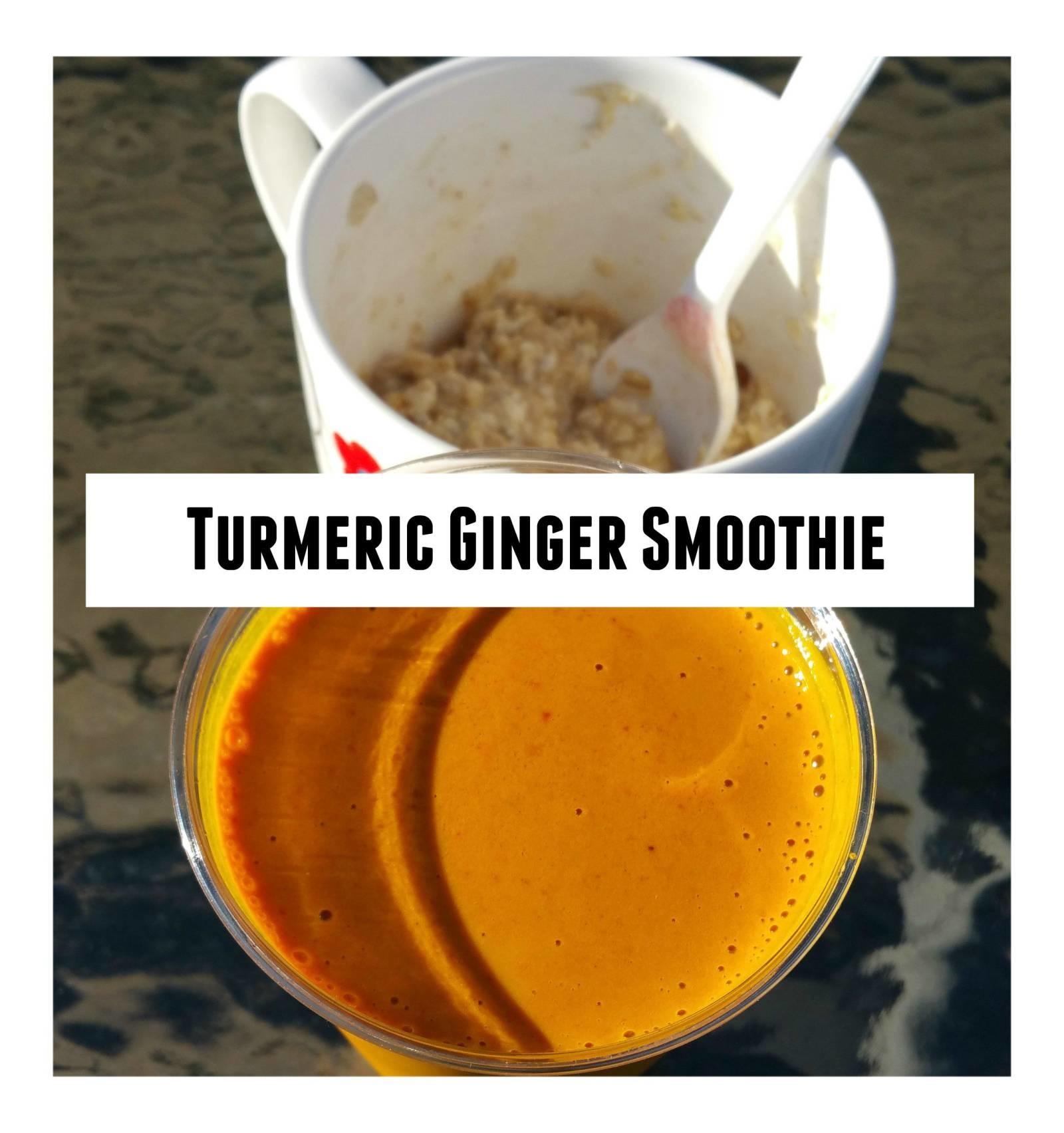 Healing Smoothie- Turmeric Ginger Smoothie