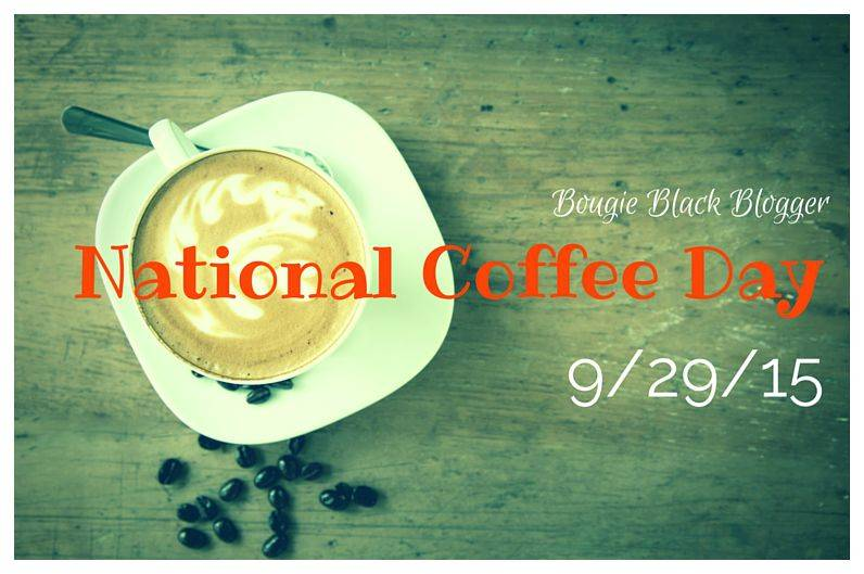 It's National Coffee Day, Hooray!