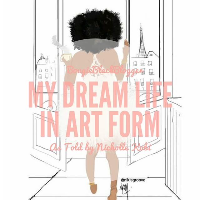 My Dream Life In Art: Nicholle Kobi
