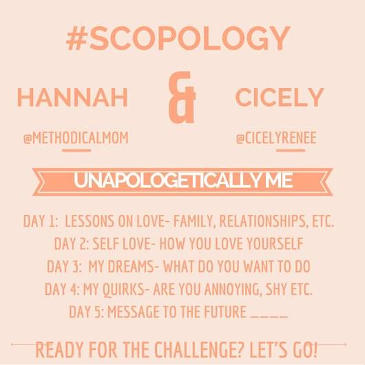 Unapologetically Me: Love Lessons #Scopology