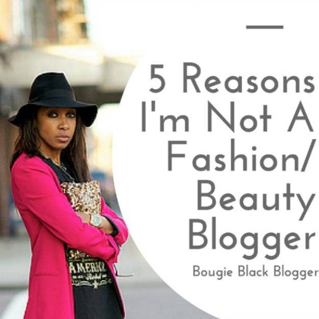 Bougie Black Blogger