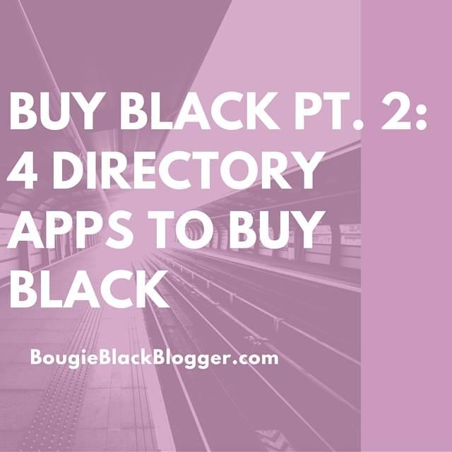 Buy Black Pt. 2: Buy Black Phone Apps Directories