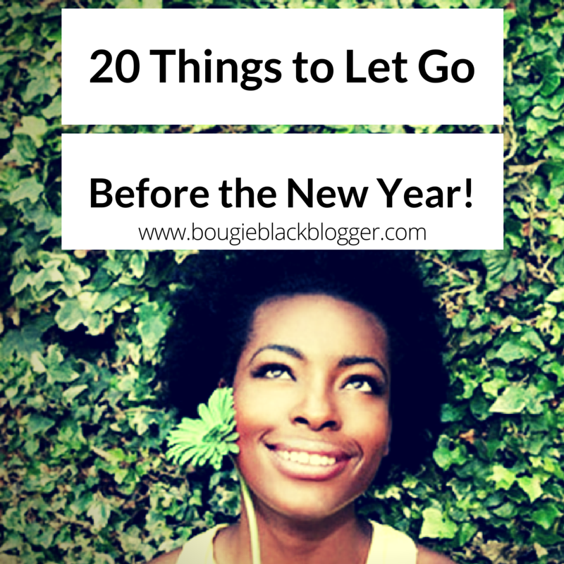 20 things to let go before the new year