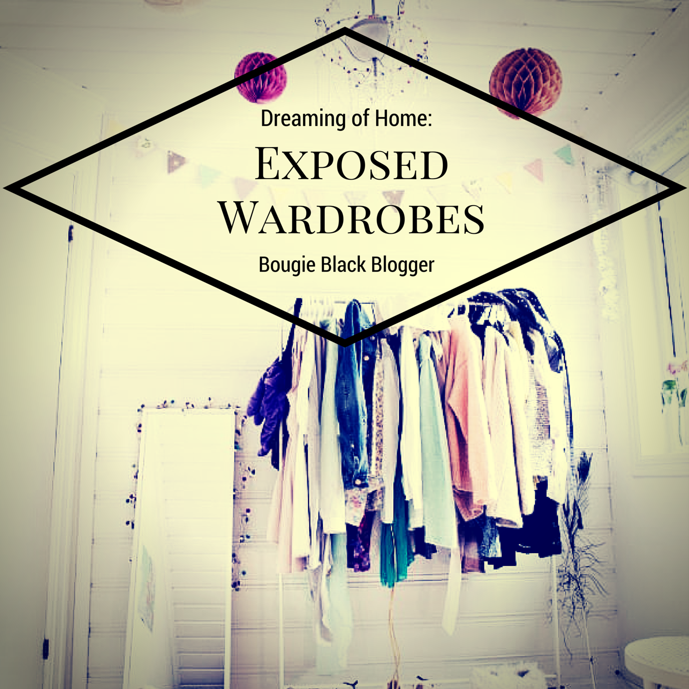 Dreaming Of Home: Exposed Wardrobe