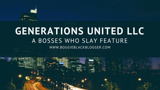 Bosses Who Slay: Generations United LLC Customized Phone Cases