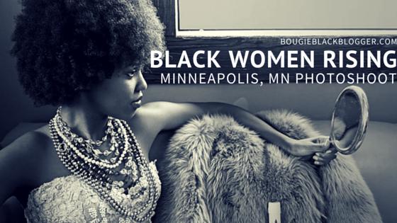 Natural Beauty Photoshoot: Minneapolis Black Women Rising