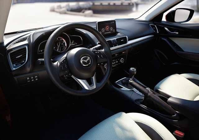 2016 Mazda3 s Grand Touring Automatic Sedan Interior Dashboard