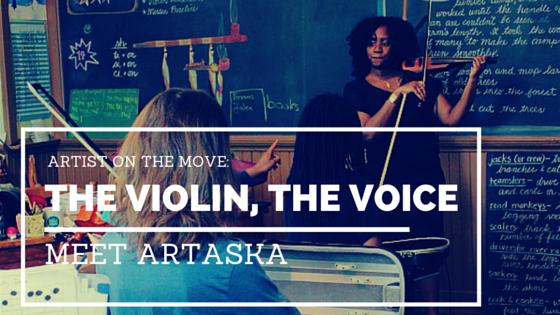 Artist on the Rise: Artaska The Violin, The Voice