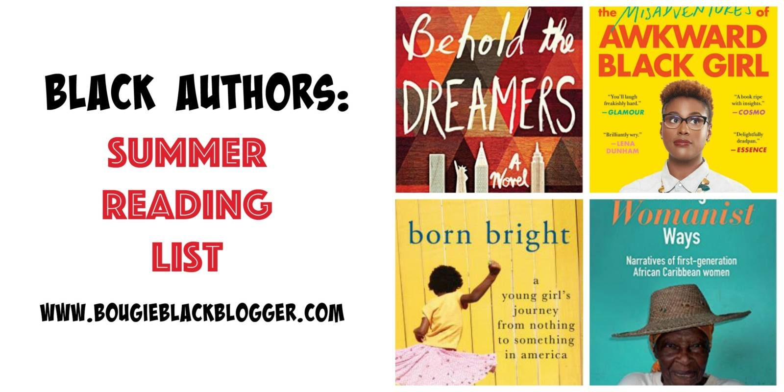 Black Authors: Awkward Black Girl and More Summer Reading List