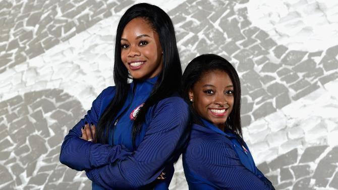 498080430-gymnasts-gabby-douglas-and-simone-biles-pose-for-a