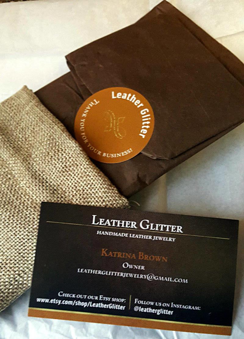 Leather Glitter