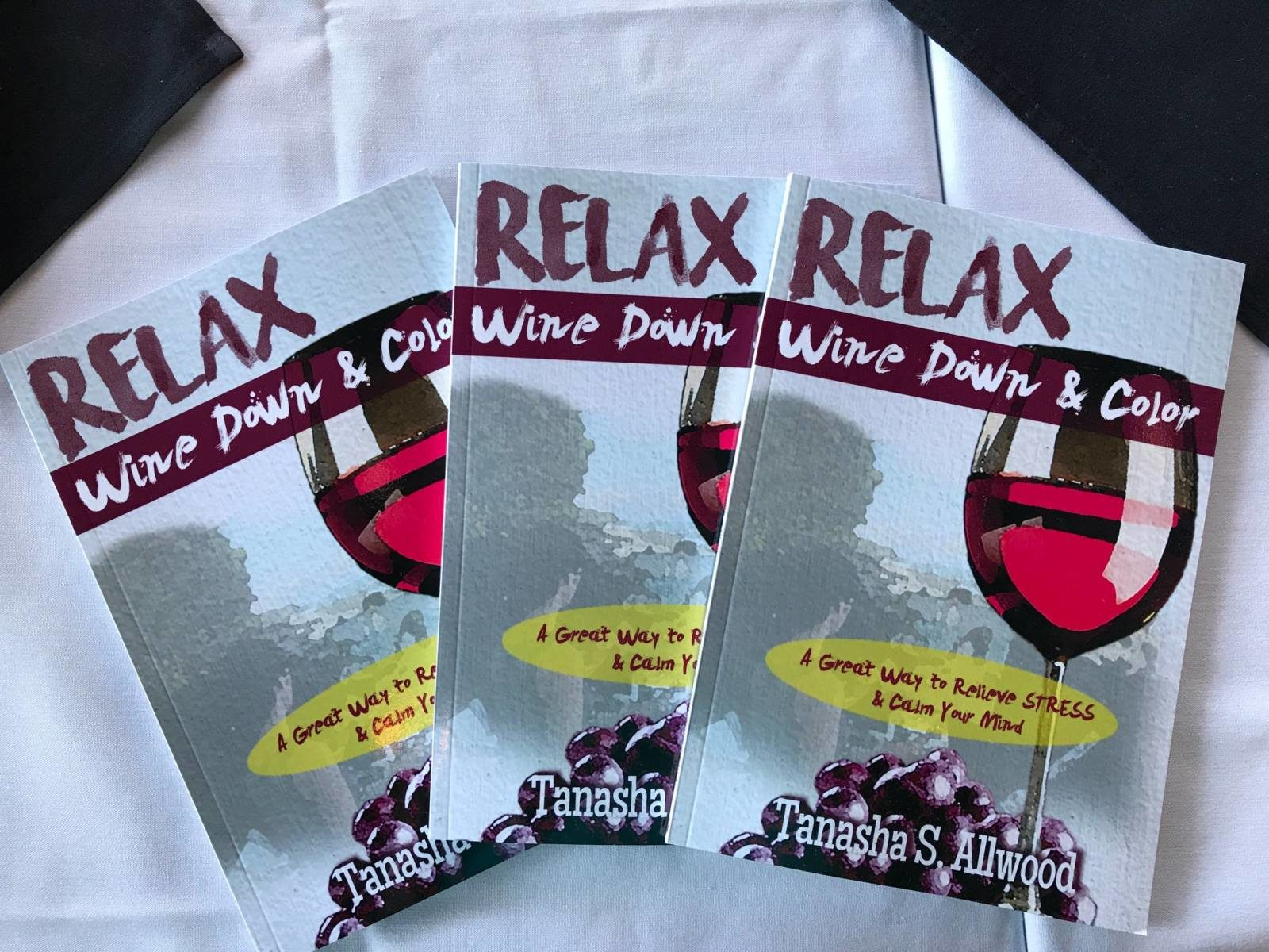 Relax Wine Down & Color: A Minimalist Way for Self-Care