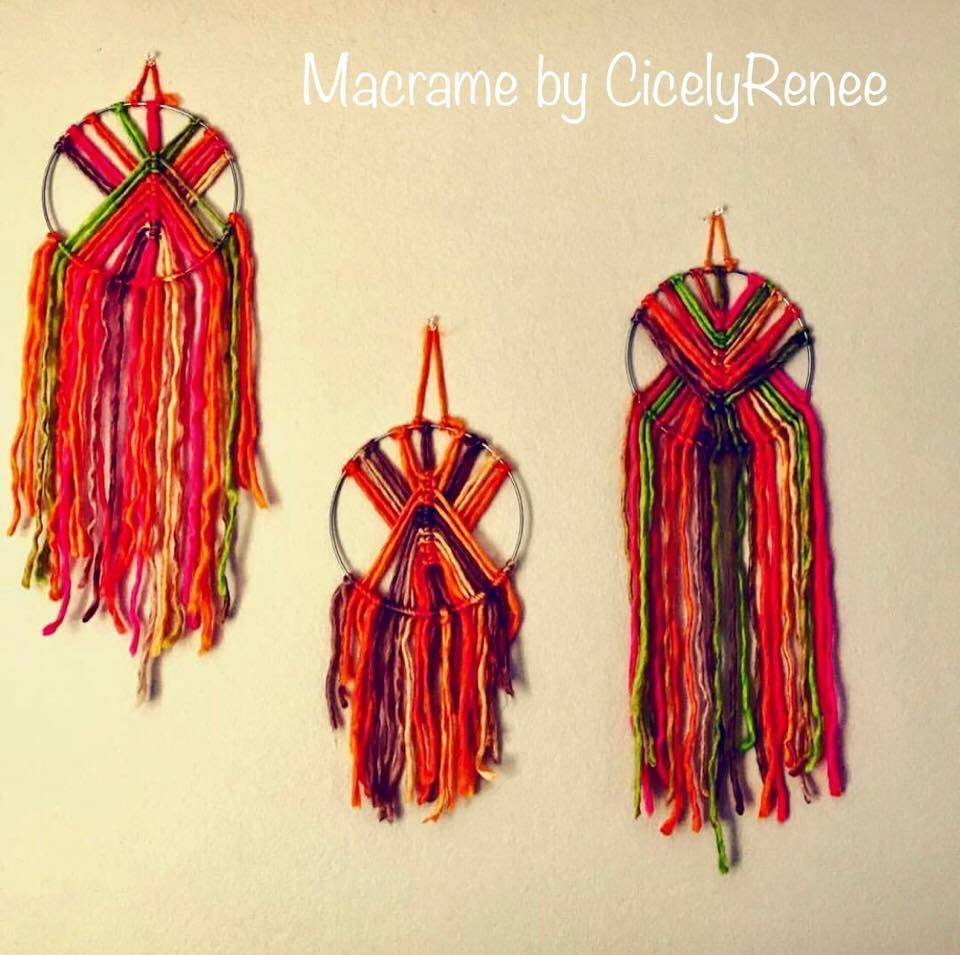 Handcrafted Macrame Wall Hangings by CicelyRenee