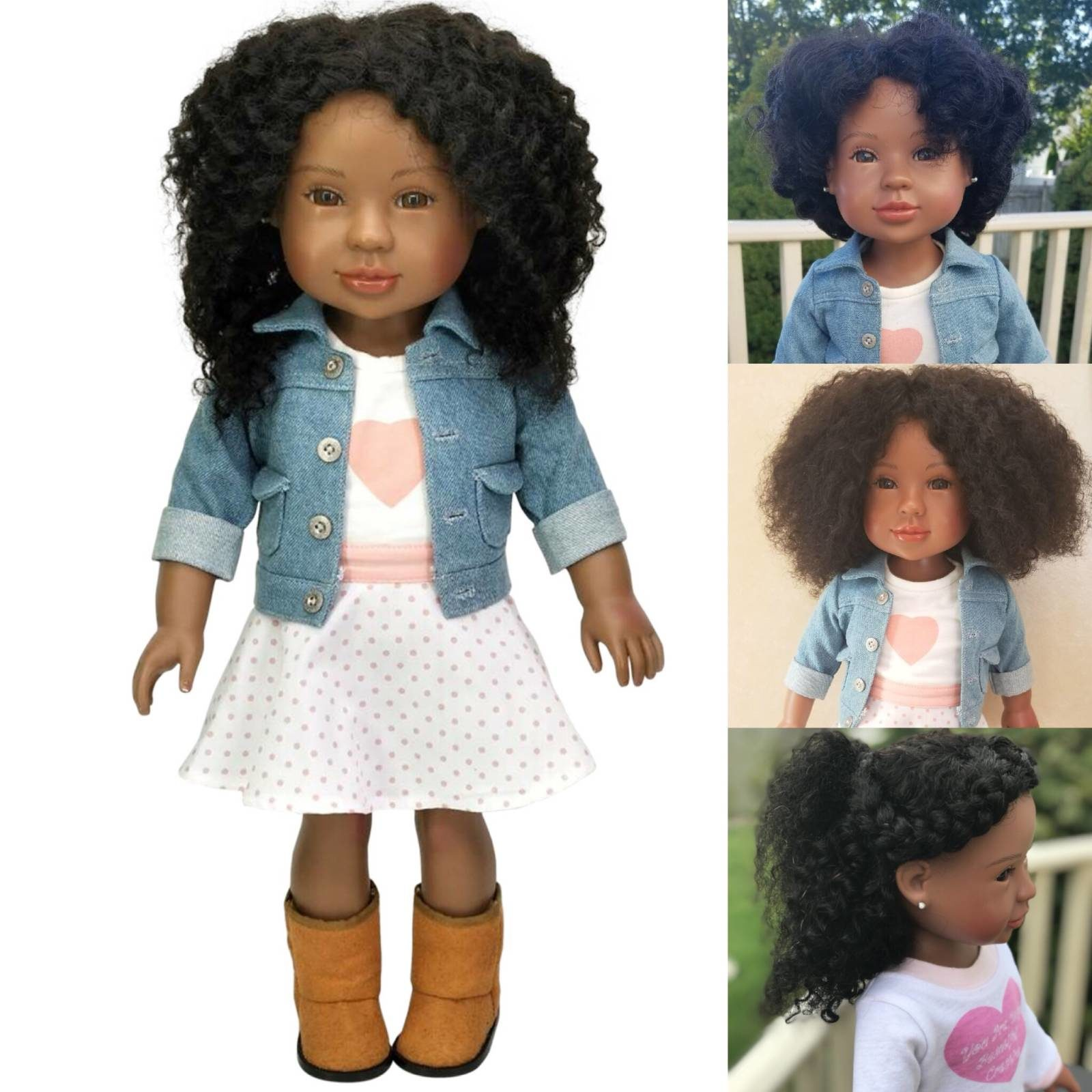Brains and Beauty Dolls: They Have My Beautiful Black Features!